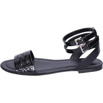Zapatos Mujer Sandalias Hogan BK657 Negro
