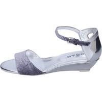 Zapatos Mujer Sandalias Hogan Sandalias Cuero Azul