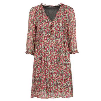 textil Mujer Vestidos cortos Betty London  Rojo / Multicolor