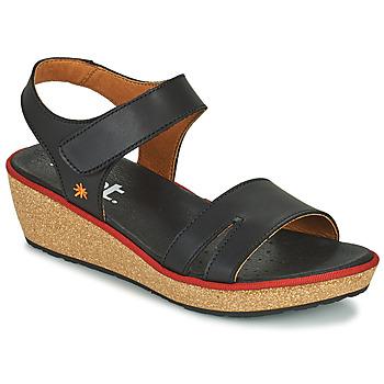 Zapatos Mujer Sandalias Art CAPRI Negro