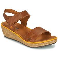Zapatos Mujer Sandalias Art CAPRI Marrón