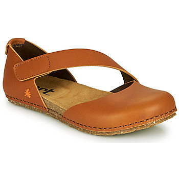 Zapatos Mujer Bailarinas-manoletinas Art CRETA Marrón