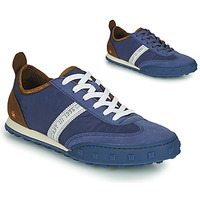 Zapatos Hombre Zapatillas bajas Art CROSS SKY Azul / Marrón