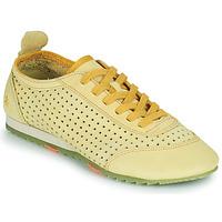 Zapatos Mujer Zapatillas bajas Art KIOTO Amarillo