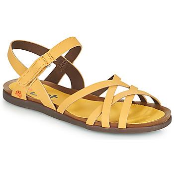 Zapatos Mujer Sandalias Art LARISSA Amarillo