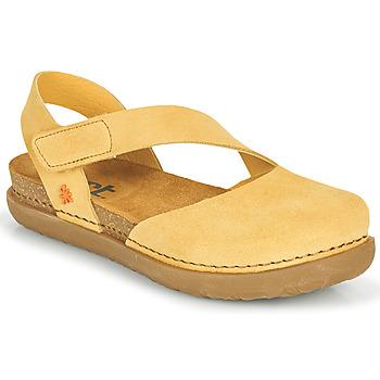 Zapatos Mujer Bailarinas-manoletinas Art RHODES Amarillo