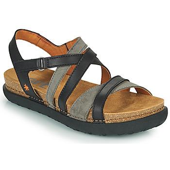 Zapatos Mujer Sandalias Art RHODES Negro