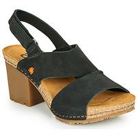 Zapatos Mujer Sandalias Art SOHO Negro