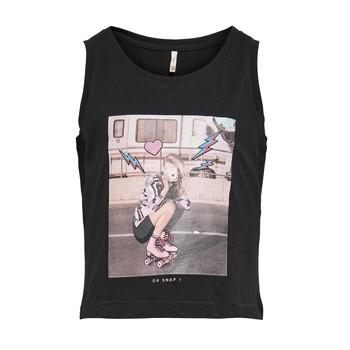 textil Niña Camisetas sin mangas Only KONLANA Negro
