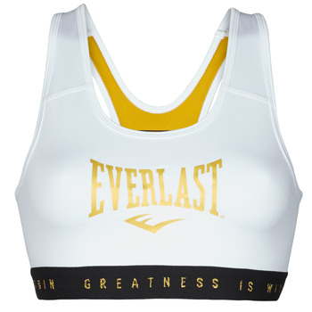 textil Mujer Sujetador deportivo  Everlast EVL BRAND BR Blanco / Dorado