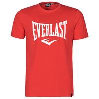textil Hombre Camisetas manga corta Everlast EVL- BASIC TEE-RUSSEL Rojo