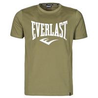 textil Hombre Camisetas manga corta Everlast EVL- BASIC TEE-RUSSEL Kaki