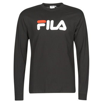 textil Camisetas manga larga Fila PURE LONG SLEEVE Negro