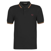 textil Hombre Polos manga corta Fred Perry TWIN TIPPED FRED PERRY SHIRT Negro