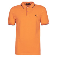 textil Hombre Polos manga corta Fred Perry TWIN TIPPED FRED PERRY SHIRT Camel