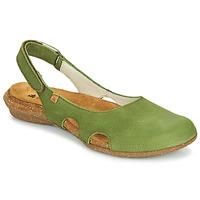 Zapatos Mujer Sandalias El Naturalista WAKATAUA Verde