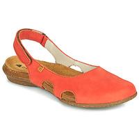 Zapatos Mujer Sandalias El Naturalista WAKATAUA Naranja