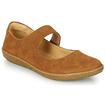 Zapatos Mujer Bailarinas-manoletinas El Naturalista CORAL Marrón