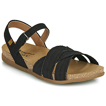 Zapatos Mujer Sandalias El Naturalista ZUMAIA Negro