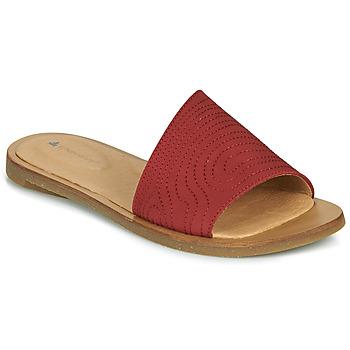 Zapatos Mujer Zuecos (Mules) El Naturalista TULIP Rojo