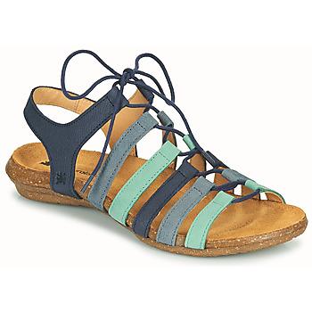 Zapatos Mujer Sandalias El Naturalista WAKATAUA Azul