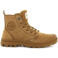Zapatos Mujer Botas de caña baja Palladium Manufacture Boots Pampa HI Zip Marrón