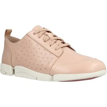 Zapatos Mujer Zapatillas bajas Clarks TriAmelia Edge Rosa