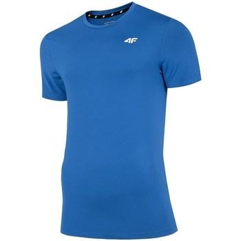 textil Hombre Camisetas manga corta 4F TSMF002 Azul