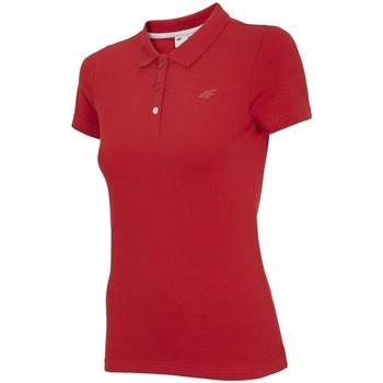 textil Mujer Polos manga corta 4F TSD008 Rojos