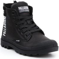 Zapatos Mujer Zapatillas altas Palladium Manufacture Pampa UBN ZIPS 96857-008-M negro