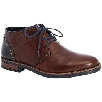 Zapatos Hombre Botas de caña baja Rieker Dustin Nut Azul marino Brown