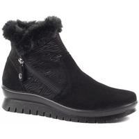 Zapatos Mujer Botas de nieve Salamander Botines Kia Black