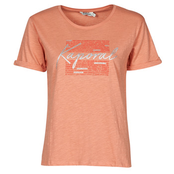 textil Mujer Camisetas manga corta Kaporal PUZZU Rosa