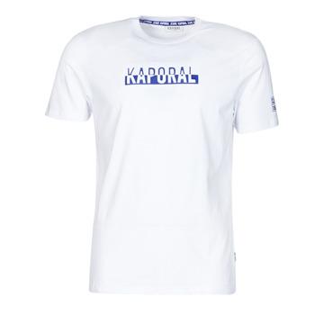 textil Hombre Camisetas manga corta Kaporal DINO Blanco