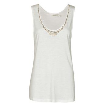 textil Mujer Camisetas sin mangas Kaporal PAMPI Blanco