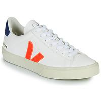 Zapatos Zapatillas bajas Veja CAMPO Blanco / Naranja / Azul