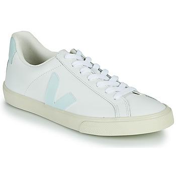 Zapatos Mujer Zapatillas bajas Veja ESPLAR LOGO Blanco / Azul