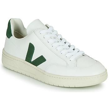 Zapatos Zapatillas bajas Veja V-12 Blanco / Verde