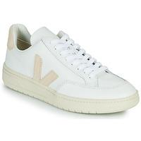 Zapatos Zapatillas bajas Veja V-12 Blanco / Beige