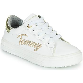 Zapatos Niña Zapatillas bajas Tommy Hilfiger SOFI Blanco