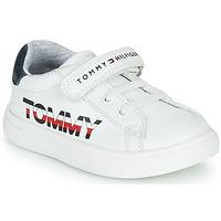 Zapatos Niños Zapatillas bajas Tommy Hilfiger MARILO Blanco