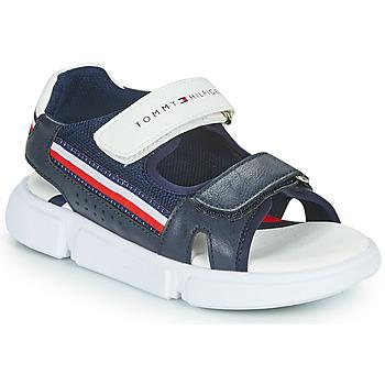 Zapatos Niños Sandalias Tommy Hilfiger TIFFOU Azul