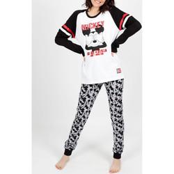 textil Mujer Pijama Admas Traje interior pantalones de pijama Mickey blanco Blanco