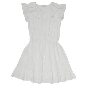 textil Niña Vestidos cortos Name it NKFDORITA Blanco