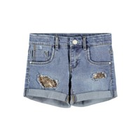 textil Niña Shorts / Bermudas Name it NKFSALLI Azul