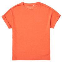 textil Niña Camisetas manga corta Name it NKFKYRRA Coral