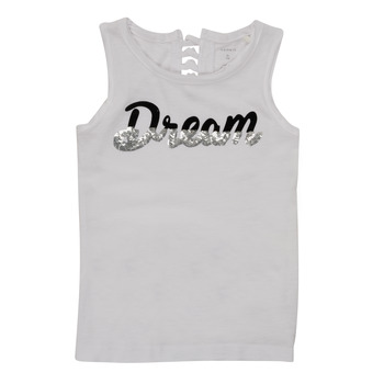 textil Niña Camisetas sin mangas Name it NKFFASAI Blanco