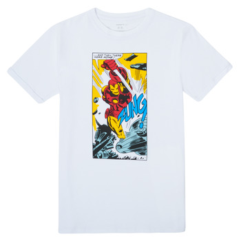 textil Niño Camisetas manga corta Name it MARVEL Blanco