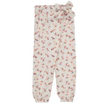 textil Niña Pantalones fluidos Name it NMFDELFIN Blanco