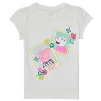 textil Niña Camisetas manga corta Name it PEPPAPIG Blanco